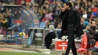 Como entrenador, Diego Pablo Simeone debutó en Liga BBVA el 17 de diciembre de 2011 en un Málaga - Atlético de Madrid (0-0)