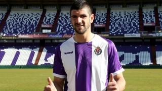 Mitrovic defiende la camiseta del Valladolid
