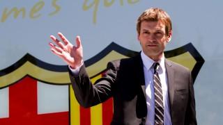 Tito Vilanova fue presentado como primer entrenador del FC.Barcelona el 15 de junio de 2012