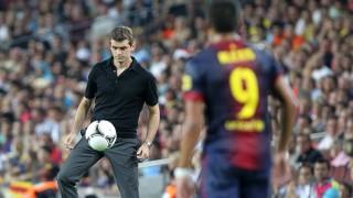 Desde la banda del Camp Nou, Tito Vilanova dirigió al FC Barcelona durante una temporada