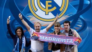 Madridistas de todos los puntos del mundo viajaron a Lisboa para vivir la gran final