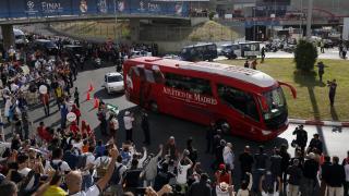El Atlético de Madrid llega al Estádio do Sport Lisboa e Benfica