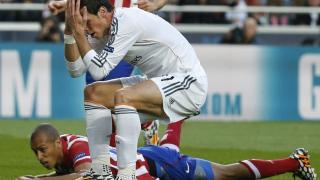 Bale se lamenta tras una buena ocasión