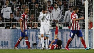 Cristiano Ronaldo se lamenta tras una buena ocasión