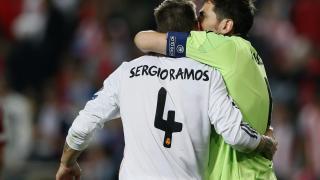 Iker Casillas y Sergio Ramos