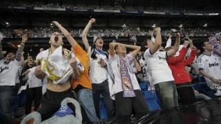 La alegría se desbordó en la grada del Estadio Da Luz