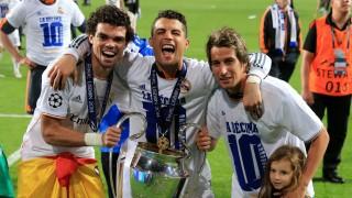 Pepe, Cristiano Ronaldo y Coentrão consiguen su primera Champions League
