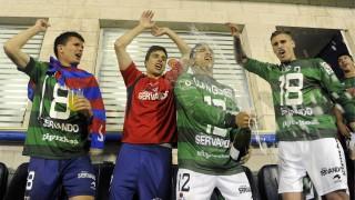 La alegría llegó a Ipurua cuando conocieron que jugarán la próxima campaña en la Liga BBVA