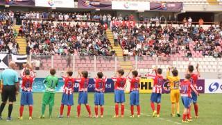 El Atlético de Madrid ofreció una gran imagen en el Torneo Internacional Sub 12