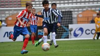 Todos los niños demostraron una enorme calidad futbolística en la primera jornada