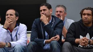 Fernando Hierro y Benjamín no se perdieron la primera jornada del Torneo Internacional Sub 12