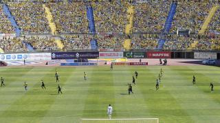 Gran ambiente en el Estadio de Gran Canaria
