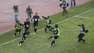 Así celebró el Córdoba el gol de Uli Dávila