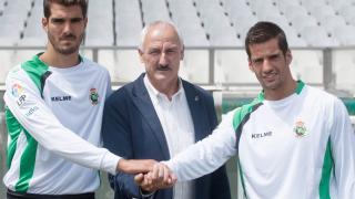 El Racing presentó a sus dos nuevas incorporaciones: Bernardo y Orfila