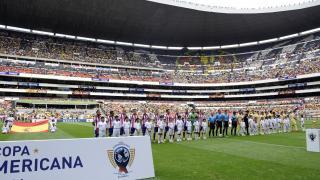 Tras jugar el Estados Unidos, la expedición del Atlético de Madrid se trasladó a México para jugar ante CF América.