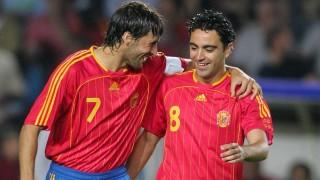 Xavi y Raúl, dos exponentes de la selección en 2006