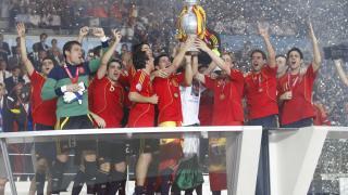 La UEFA EURO 2008 dio comienzo a un ciclo de éxitos de Xavi con la selección