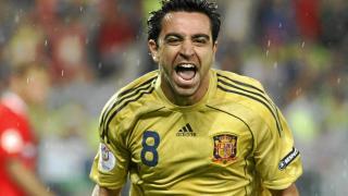 Xavi, uno de los máximos exponentes del juego de la selección