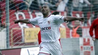 Baptista llegó a Europa de la mano del Sevilla, donde explotó su faceta más goleadora