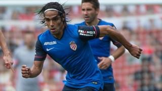 Radamel Falcao durante un partido con el Monaco
