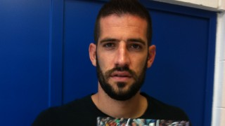 Kiko Casilla, portero del Espanyol, también recibió el 'Manual de Bienvenida de la LFP'