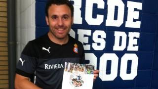 Sergio González, entrenador del Espanyol, recibió el 'Manual de Bienvenida de la LFP'