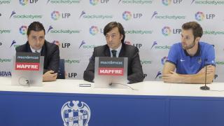Rueda de prensa de la LFP y el Levante UD
