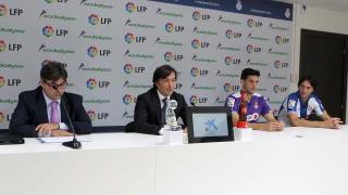Rueda de prensa de la presentación del RCD Espanyol