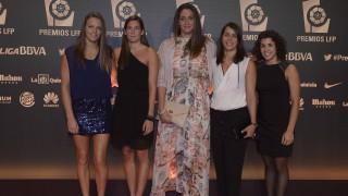 Las jugadoras de la selección femenina de waterpolo