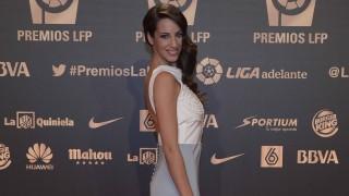 La ex gimnasta Almudena Cid, en la 'Gala de los Premios LFP 2014'