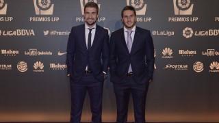 Gabi y Koke, jugadores del Atlético Madrid