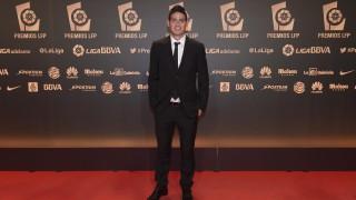 James Rodríguez (Real Madrid), en la 'Gala de los Premios LFP 2014'