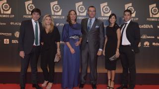 Representantes del Real Betis, en la alfombra roja