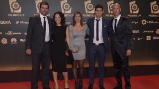 La delegación del CE Sabadell en la alfombra roja