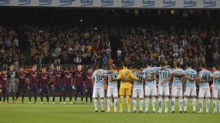 La primera derrota de la temporada llegó ante el Celta, ex equipo de Luis Enrique, y en el Camp Nou (0-1)