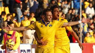 David Rodríguez es un seguro con el Alcorcón y ya suma 12 goles en la Liga Adelante