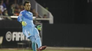 Diego Alves, el 'parapenaltis' de la Liga BBVA, solamente ha recibo 17 goles esta temporada