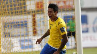 Sergio Araujo es una de las grandes estrellas en la Liga Adelante y suma 13 con Las Palmas