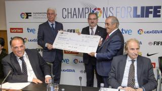 Otros eventos - Entrega fondos Champions for Life.