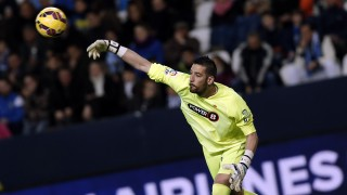 Kiko Casilla celebró su partido 100 en la Liga BBVA deteniendo un penalti con el Espanyol ante el Málaga