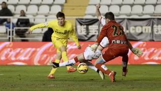Toño, a sus 35 años, sigue mostrando su clave en la Liga BBVA defendiendo la portería del Rayo Vallecano