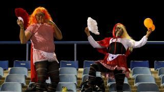 El fútbol y el Carnaval se unieron durante el fin de semana en los campos de La Liga