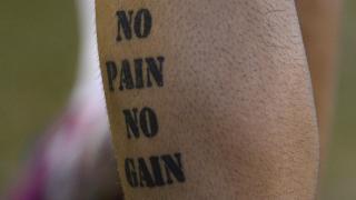 La motivadora frase 'Sin dolor no hay recompensa' es una de las más esperadas