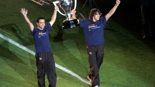 Xavi ha levantado siete Ligas con el FC Barcelona
