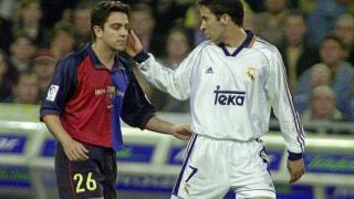 Xavi y Raúl, dos iconos de la Liga BBVA