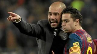El técnico Pep Guardiola consiguió sacar lo mejor de él