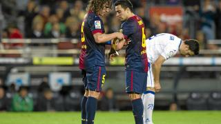 Tras la retirada de Puyol, Xavi asumió la capitanía del FC Barcelona