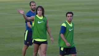 Puyol y Xavi: dos amigos unidos por el fútbol y unos colores