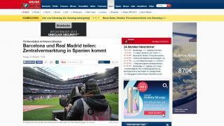 """FOCUS: """"Revolución audiovisual en La Liga: el mercado centralizado llega a España"""""""