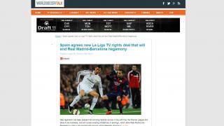 """WORLDSOCCER TALK: """"España acuerda un nuevo contrato en los derechos de La Liga que acaba con la hegemonía de Real Madrid y Barcelona"""""""